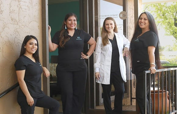 Dallas Dentist. Dr. Barnett & Husband
